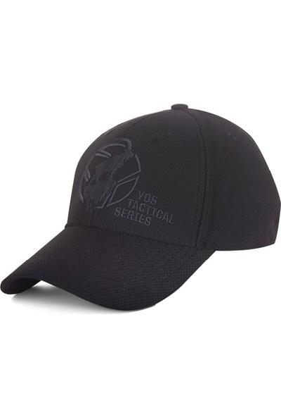 Yds Tactıcal Cap Mountaın Goat -Siyah (Yüksek Seviye Nefes Alabilen, Rahat Nakış İşlemeli Şapka)