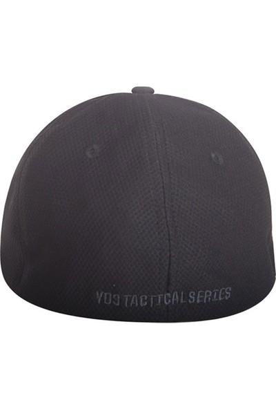 Yds Tactıcal Cap -Siyah (Nefes Alabilir, Rahat Taktik Nakış İşlemeli Şapka)
