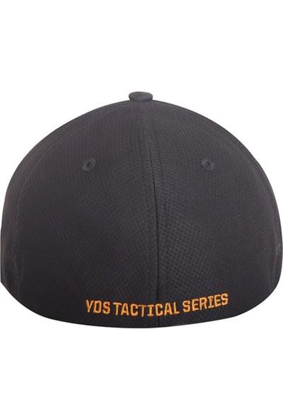 Yds Tactıcal Cap -Siyah Turuncu (Nefes Alabilir, Rahat Taktik Nakış İşlemeli Şapka)