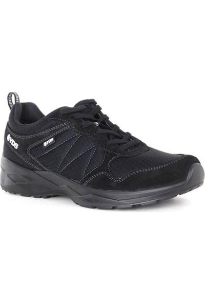 Yds Metronom -Siyah (Hakiki Deri, Yüksek Konforlu Yazlık Yürüyüş Ayakkabısı)