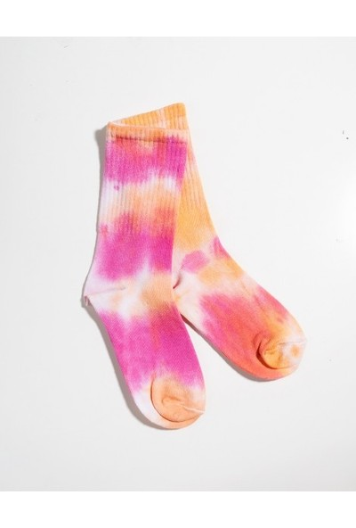 Batik Desen Unisex Spor Çorap 36-44 DD5144TR