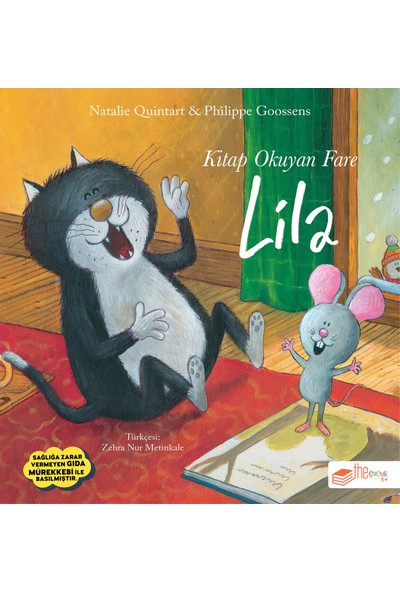 Kitap Okuyan Fare Lila - Natalie Quintart