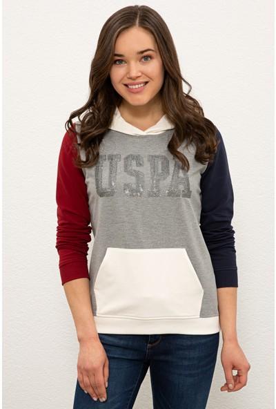 U.S. Polo Assn. Gri Sweatshirt 50233402-VR086