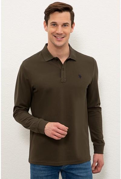 U.S. Polo Assn. Yeşil Sweatshirt Basic 50225335-VR111