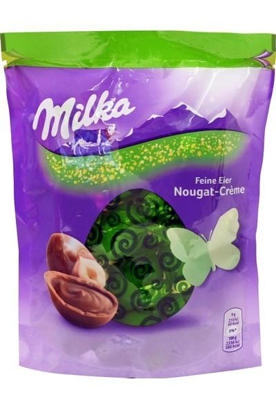 Milka Feine Eier Nougat-Creme Fındık Kremalı Çikolata 90 gr