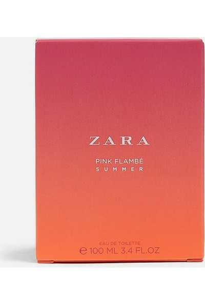 Zara Pink Flambe Summer 100 ml