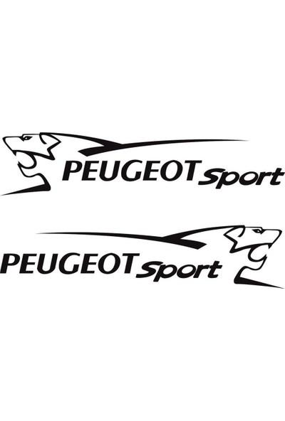 smoke Peugeot Sport Sticker