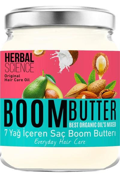Herbal Science Boom Butter Saç Bakım Yağı 190 Ml