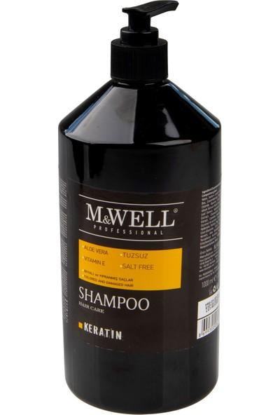 M&Well Tuzsuz Keratin Şampuan 1000 ml