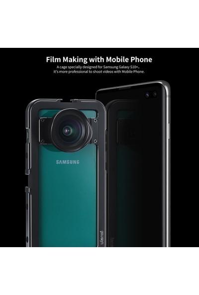 Ulanzi Samsung S10 Plus Metal Vlog Çerçeve Gri