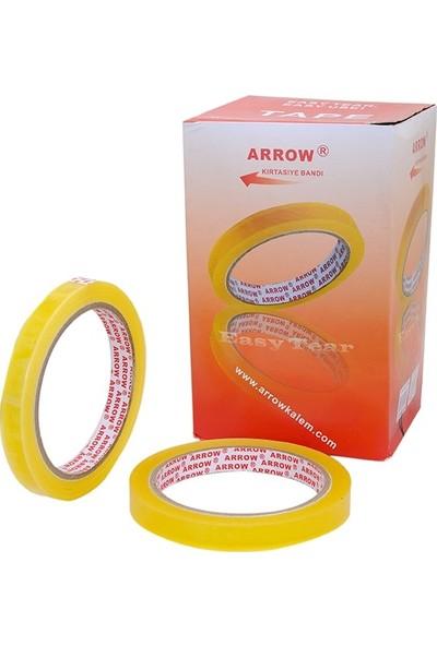 Arrow Pp Kırtasiye Bandı 12 mm x 66 M 12'li
