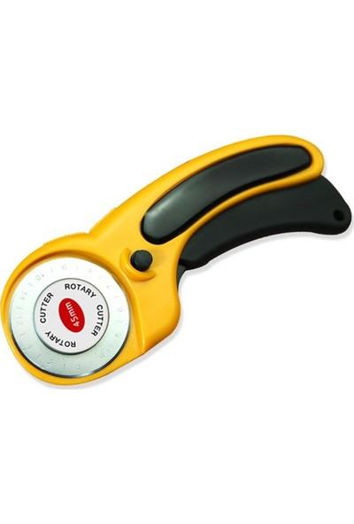 Patchwork Kırkyama Patchwork Makası Bıçağı 45MM Döner Bıçak