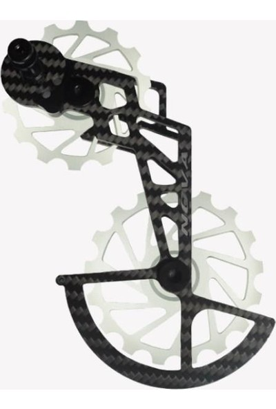 Nova Ride Ospw 3D Karbon Seramik Arka Vites Kafesi Shimano Dura Ace/ultegra Grey
