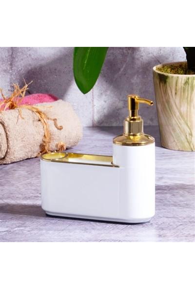 Kosova PBY-0150 Sıvı Sabunluk Set 200 ml Beyaz