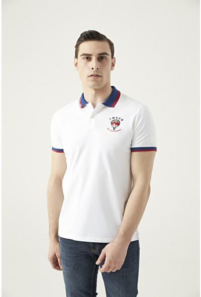 Tween Beyaz Nakışlı T-shirt