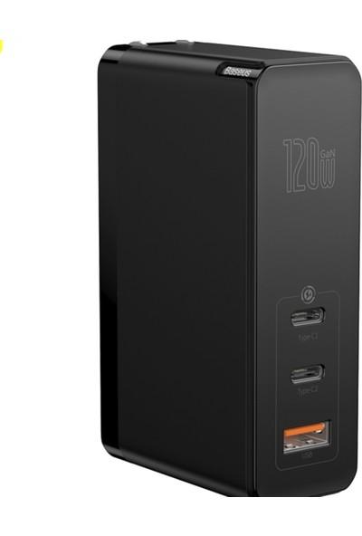 Baseus Gan Miniquickcharger 120W Fotoğraf Makinesi, Kamera, Telefon, Tablet Uyumlu