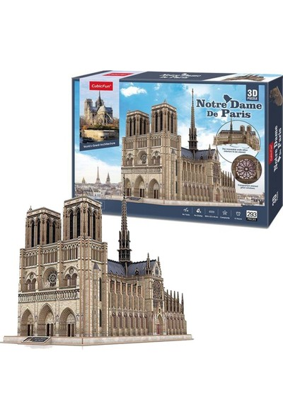 Cubic Fun 3D Puzzle 3 Boyutlu Yapboz PM0026