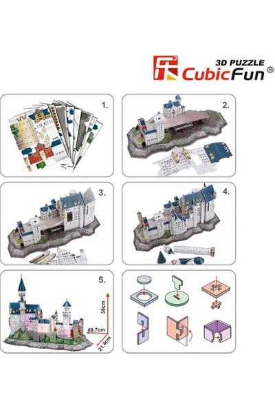 Cubic Fun 3D Puzzle 3 Boyutlu Yapboz PM0020