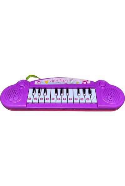 Kids Müzikli Mini Piyano, Mor