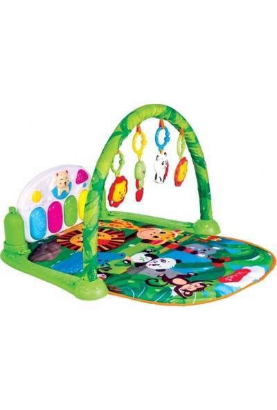 Furkan Toys Sevimli Orman Piyanolu Oyun Halısı