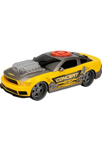 Maxx Wheels Sesli ve Işıklı Muscle Araba - Sarı
