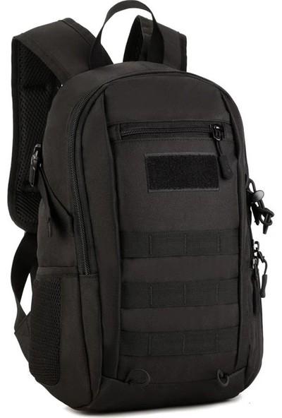 Protector Plus Küçük Sırt Çantası Siyah 12 Litre