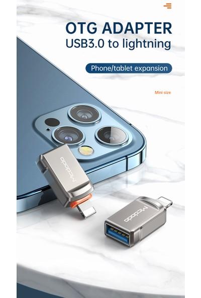 Mcdodo OT-8600 Lightning To USB 3.0 Otg Çevirici Adaptör