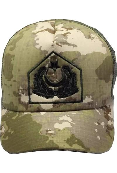 Subay Yeni Kamuflaj Yazlık Şapka