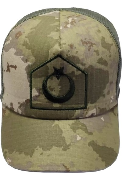 Astsubay - Uzman Çavuş Yeni Kamuflaj Yazlık Şapka