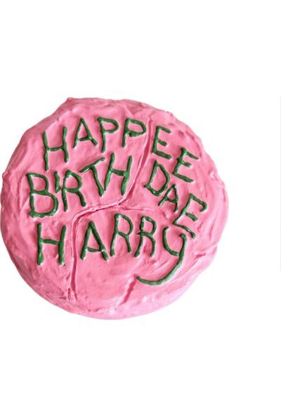 Büyücü Sokağı Harry Potter Doğum Günü Pastası Happee Birthdae