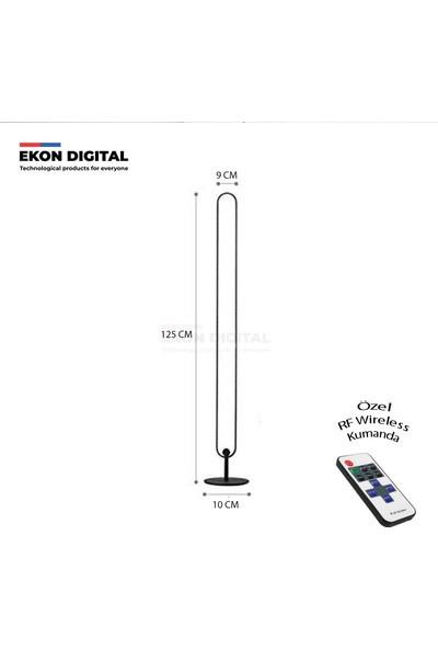Ekon Dekoratif LED Lambader Rf Wireless Kumanda