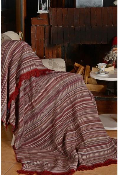 Dolce Bonita Home Aksu Luka Bordo 150 x 200 cm Pike Battaniye