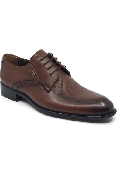 Üçlü %100 Deri Erkek Bağcıklı Klasik Yazlık Ayakkabı