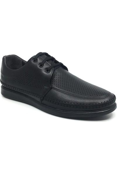 Öz Soylu Hakiki Deri Rahat Erkek Günlük Yazlık Büyük Ayakkabı 45-47