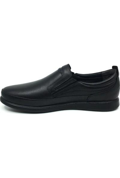 Öz Soylu %100 Deri Rahat Erkek Günlük Yazlık Büyük Ayakkabı 45-47