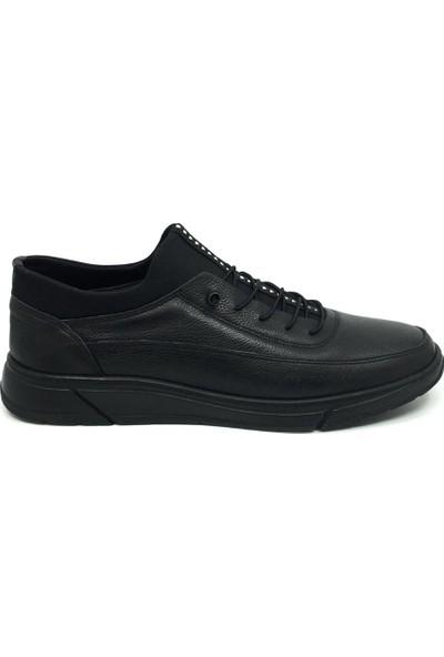 Öz Soylu %100 Deri Erkek Günlük Rahat Yazlık Büyük Ayakkabı 45-47