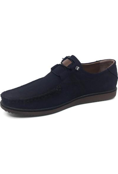 Üçlü %100 Deri Yazlık Rahat Tam Rok Erkek Günlük Ayakkabı 39-46