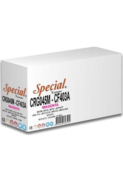 Special CRG045 Kırmızı CF403A-201A-UNIVERSAL Toner 1,4k