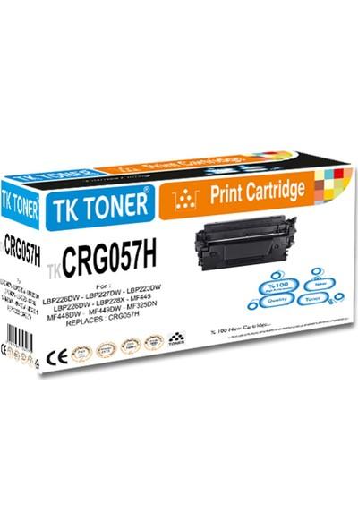 Tk Toner Tk CRG057H Yüksek Kapasite Chipsiz 10K