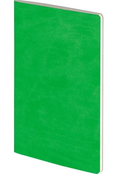 Hediyemgelsin Terzidikiş Termo Deri Tarihsiz Defter Yeşil