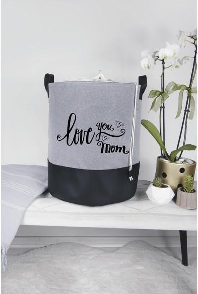 Rope Home 6'lı Love You Mom Baskılı Aile Seti
