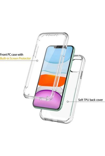 i-Stone I Stone 360 Derece Koruyucu Şeffaf Kılıf Apple iPhone 11