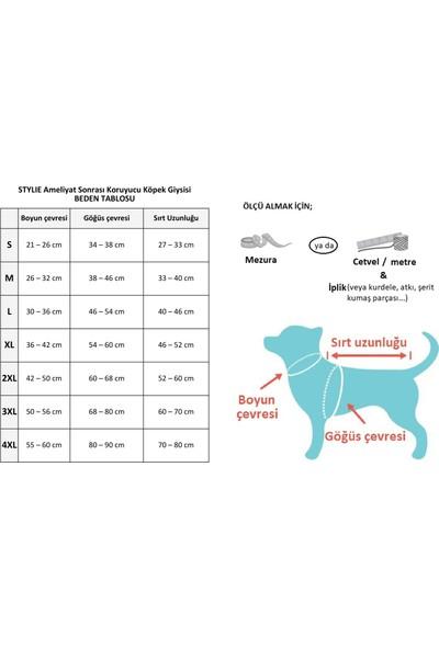 Stylie Ameliyat Sonrası Koruyucu Köpek Tulumu - M