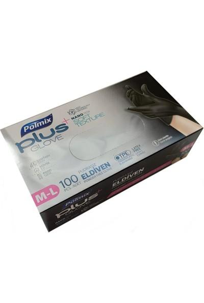 Polmix Poşet Eldiven Siyah Polmix Plus 5 Kutu (500 'lü)