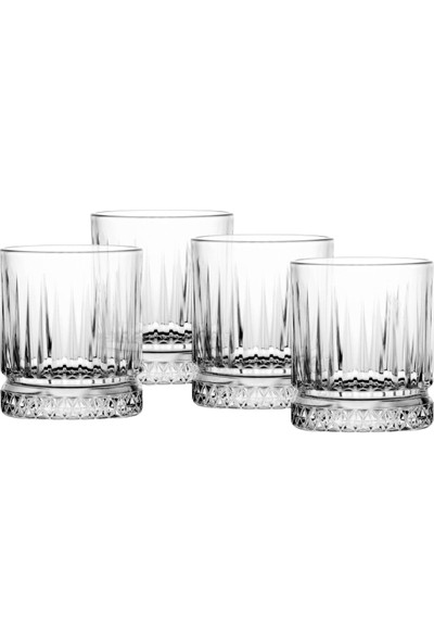 Paşabahçe Elysia Viski Bardağı 4' Lü Set 355 Cc
