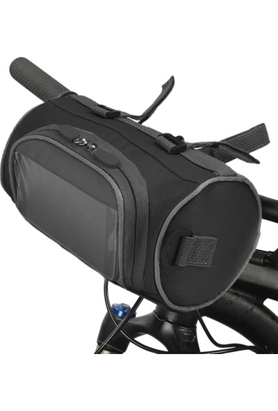 Buyfun Bisiklet Gidon Dokunmatik Ekran Tasarımlı Bisiklet Kova Çanta