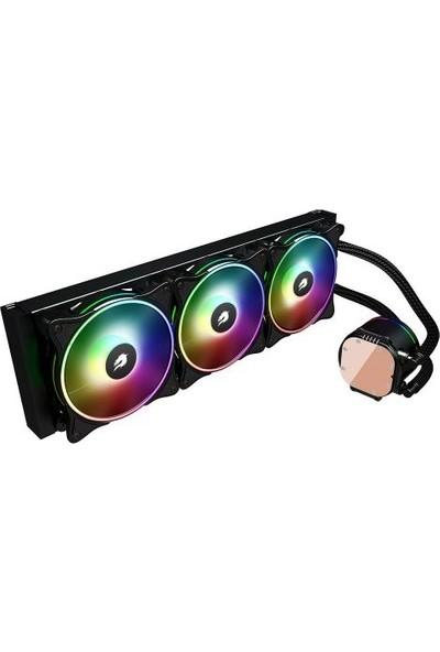 Gamebooster Nıtro 360 ARGB Fanlı 360MM (Intel/am4) Serisi Uyumlu Sıvı Soğutma Sistemi (GB-LCS-NTR360)