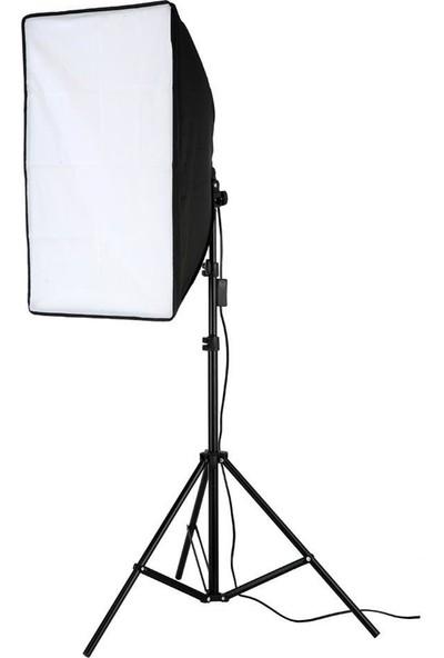 Cazip Shop Video Softbox Sabit Işık Seti Sürekli Işık 50X70 LED Işık