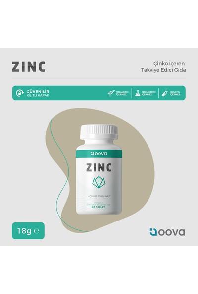 Oova Zinc 15 mg 60 Tablet