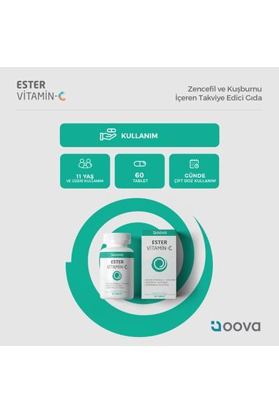 Oova Ester Vitamin C 500 mg 60 Tablet